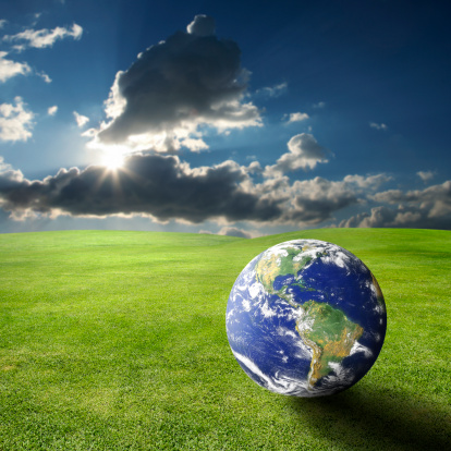 おとぎ話「地球温暖化」:スマホ壁紙(18)