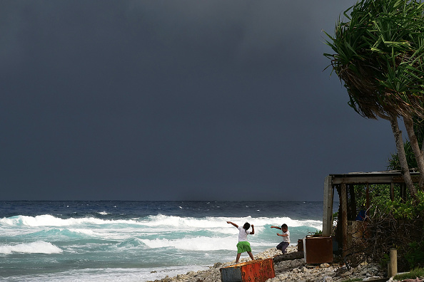 Pacific Ocean「Life In Tuvalu - Pacific Island Striving To Mitigate Climate Change Effects」:写真・画像(11)[壁紙.com]
