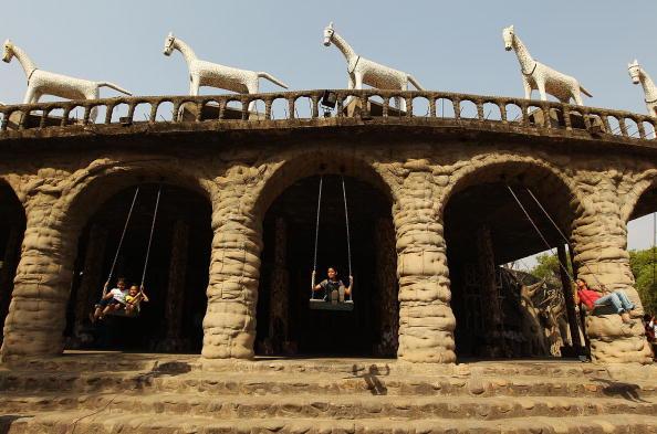 Ornamental Garden「Scenes Of India」:写真・画像(7)[壁紙.com]