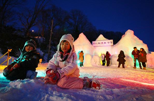 Hokkaido「Lake Shikotsu Ice Festival 2009」:写真・画像(2)[壁紙.com]