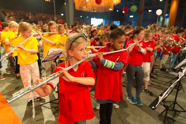 Utrecht「Queen Maxima Of The Netherlands Attends Children's Concert」:写真・画像(15)[壁紙.com]