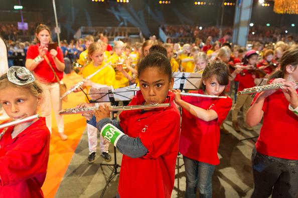 Utrecht「Queen Maxima Of The Netherlands Attends Children's Concert」:写真・画像(17)[壁紙.com]