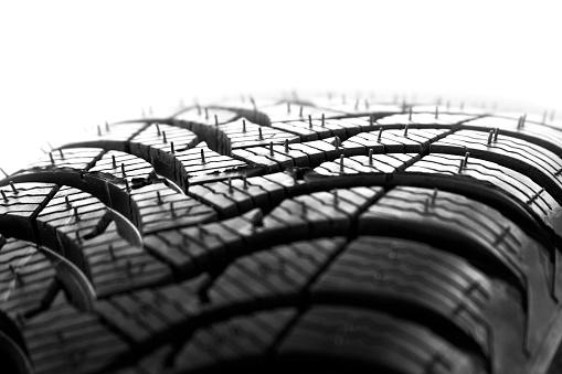 Sports Car「new car tire profile on white background」:スマホ壁紙(15)