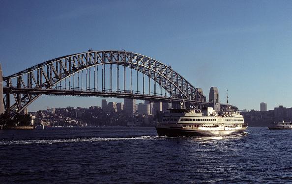Bridge - Built Structure「Skyline, Harbour Bridge in the city of Sydney, State of New South Wales, Australia」:写真・画像(5)[壁紙.com]