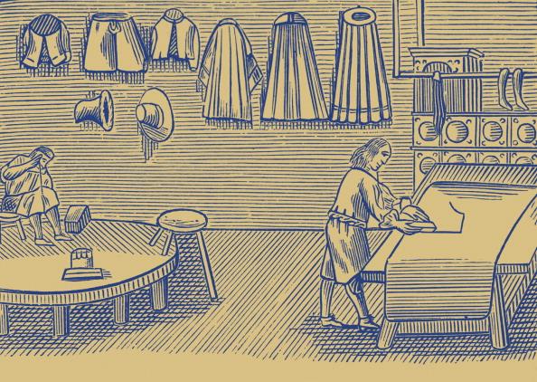 17th Century「Tailor」:写真・画像(7)[壁紙.com]