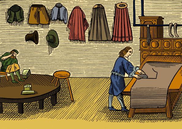 17th Century「Tailor」:写真・画像(19)[壁紙.com]