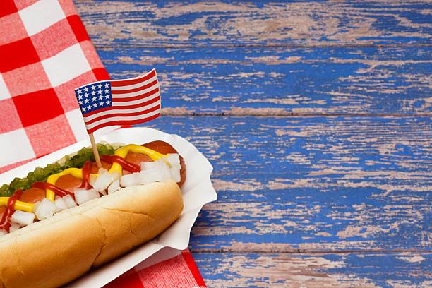 Patriotic Hotdog:スマホ壁紙(壁紙.com)