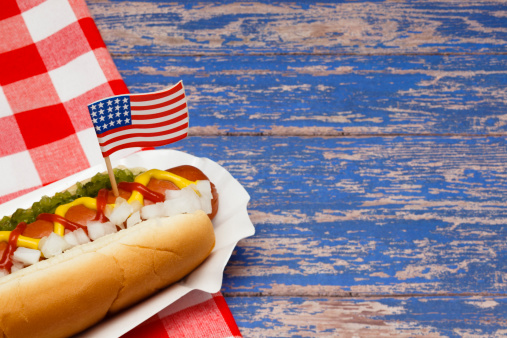 Independence Day - Holiday「Patriotic Hotdog」:スマホ壁紙(3)