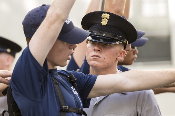 Charleston - South Carolina「New Cadet Class Enters The Citadel」:写真・画像(6)[壁紙.com]