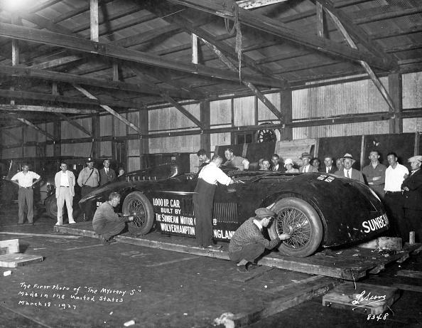 Effort「Sunbeam 1000hp World Land speed record attempt at Daytona 1927」:写真・画像(8)[壁紙.com]