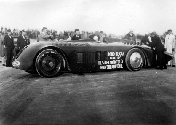Sunbeam「Sunbeam 1000hp World Land speed record attempt at Daytona 1927」:写真・画像(17)[壁紙.com]