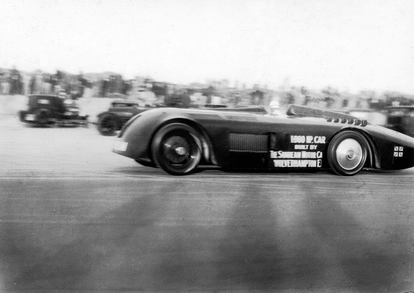 Sunbeam「Sunbeam 1000hp World Land speed record attempt at Daytona 1927」:写真・画像(13)[壁紙.com]