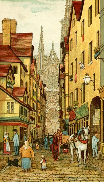 City Life「Rouen street scene」:写真・画像(0)[壁紙.com]