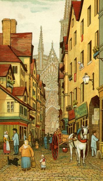 Rouen street scene:ニュース(壁紙.com)