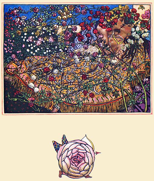 薔薇「'Song by Gulbaz', poem from The Garden of Kama.」:写真・画像(2)[壁紙.com]