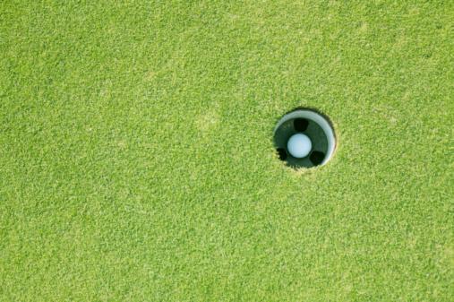 Putting - Golf「Hole in one!」:スマホ壁紙(17)