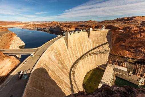 Glen Canyon National Recreation Area「Glen Canyon Dam at Page, Arizona」:スマホ壁紙(6)