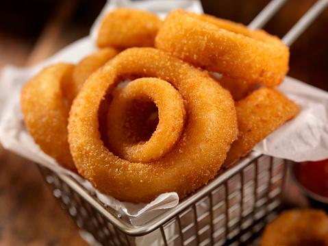 Pub Food「Basket of Onion Rings」:スマホ壁紙(15)