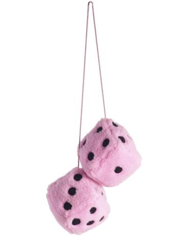 Chord「Pink fuzzy dice」:スマホ壁紙(1)