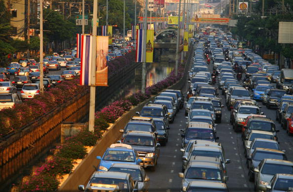 Traffic「Bangkok Battles Legendary Traffic Chaos」:写真・画像(1)[壁紙.com]