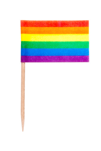 Rainbow「Rainbow paper flag」:スマホ壁紙(1)