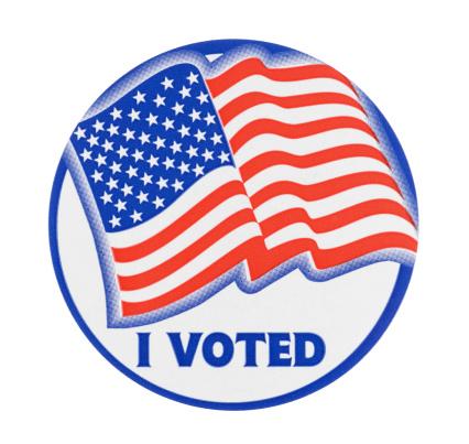 Election「I Voted Sticker」:スマホ壁紙(9)