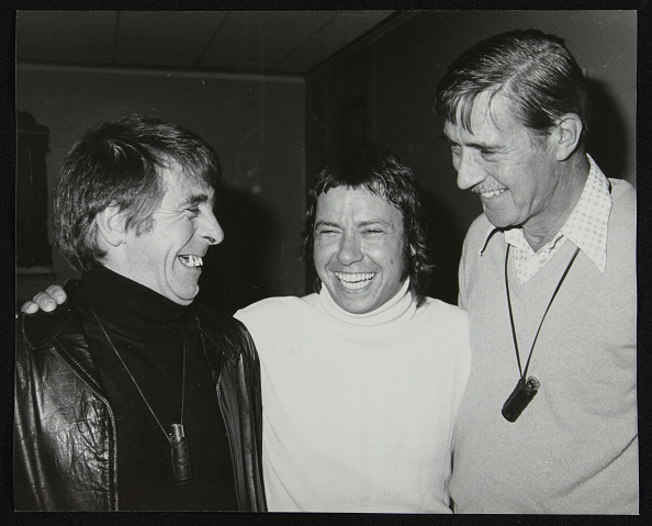 Leather Jacket「Drummers Kenny Clare, Les DeMerle and Jack Parnell, London, 1979. Artist: Denis Williams」:写真・画像(15)[壁紙.com]