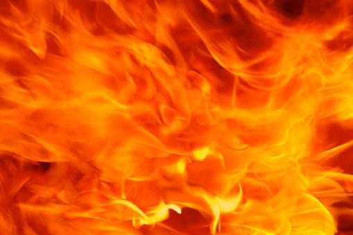 炎「火災の背景」:スマホ壁紙(5)