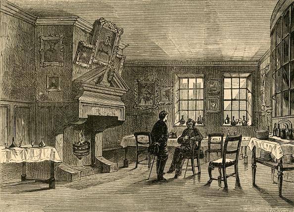 Fireplace「Dollys Coffee House 1」:写真・画像(8)[壁紙.com]