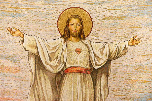 Mosaic of Jesus Christ:スマホ壁紙(壁紙.com)