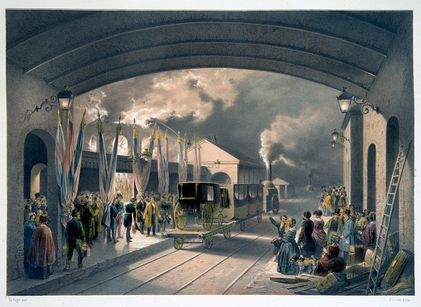 1840-1849「The King At New Cross Station 1844」:写真・画像(4)[壁紙.com]