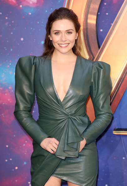 "Elizabeth Olsen「""Avengers Infinity War"" UK Fan Event - Red Carpet Arrivals」:写真・画像(19)[壁紙.com]"