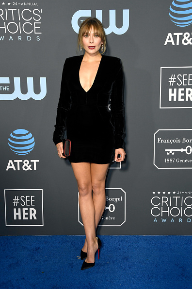 Elizabeth Olsen「The 24th Annual Critics' Choice Awards - Arrivals」:写真・画像(8)[壁紙.com]