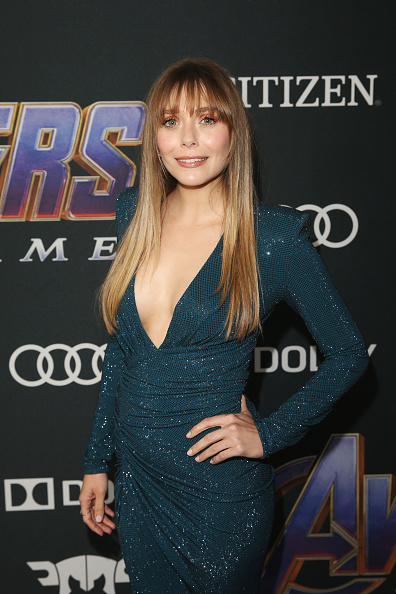 "Elizabeth Olsen「Los Angeles World Premiere Of Marvel Studios' ""Avengers: Endgame""」:写真・画像(11)[壁紙.com]"
