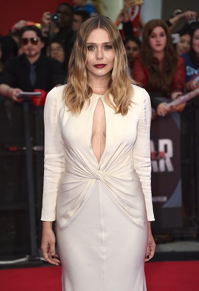 "Elizabeth Olsen「""Captain America: Civil War"" - UK Film Premiere - Arrivals」:写真・画像(18)[壁紙.com]"