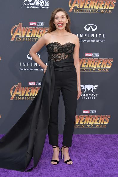 "Elizabeth Olsen「Premiere Of Disney And Marvel's ""Avengers: Infinity War"" - Arrivals」:写真・画像(7)[壁紙.com]"
