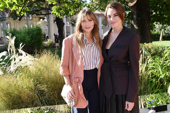 Elizabeth Olsen「Salvatore Ferragamo - Front Row - Milan Fashion Week Spring/Summer 2020」:写真・画像(3)[壁紙.com]