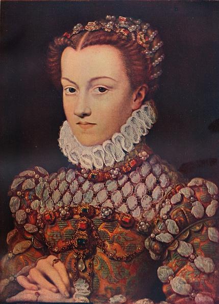 Ornate「Elizabeth of Austria, (1554-1592), wife of King Charles IX (1550-1574), c1571, (1911). Artist: Francois Clouet」:写真・画像(3)[壁紙.com]