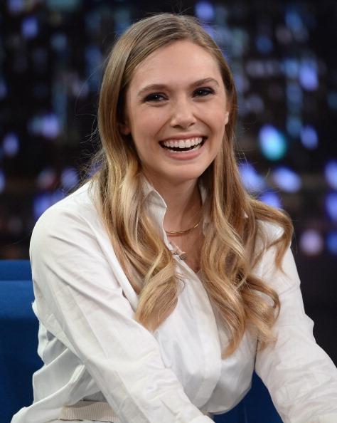 "Elizabeth Olsen「Elizabeth Olsen Visits ""Late Night With Jimmy Fallon""」:写真・画像(8)[壁紙.com]"