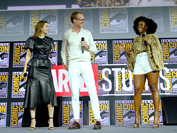 Elizabeth Olsen「Marvel Studios Hall H Panel」:写真・画像(5)[壁紙.com]