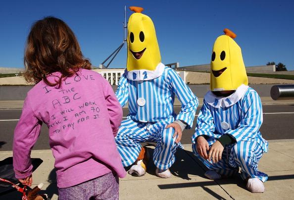 Pajamas「Australian Federal Budget Delivered In Canberra」:写真・画像(5)[壁紙.com]