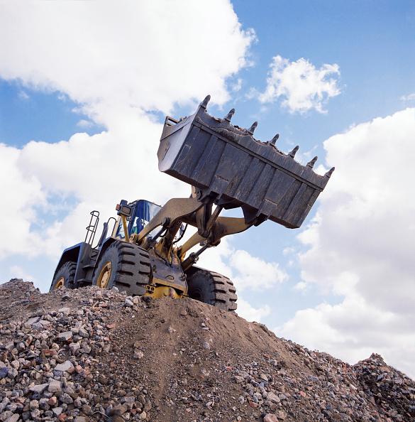 Risk「Wheeled loader on site.」:写真・画像(10)[壁紙.com]