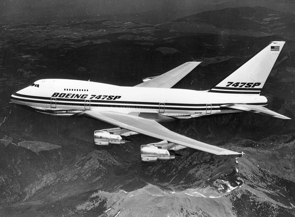 Photoshot「Boeing 747 SP」:写真・画像(0)[壁紙.com]