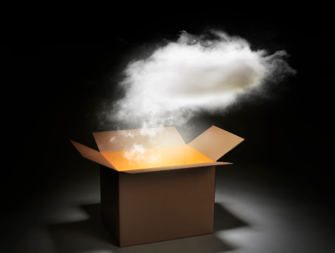 Cloud Computing「The cloud network」:スマホ壁紙(15)