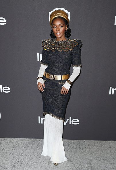 Gold Colored「InStyle And Warner Bros. Golden Globes After Party 2019 - Arrivals」:写真・画像(17)[壁紙.com]