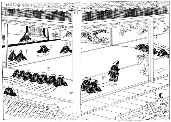 戦国武将「The Shogun receiving investiture from an imperial envoy, Japan, 1904.」:写真・画像(5)[壁紙.com]