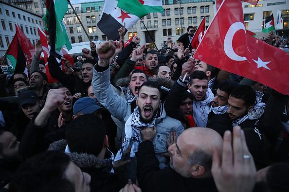 Jerusalem「Palestinians Protest Trump Announcement」:写真・画像(16)[壁紙.com]
