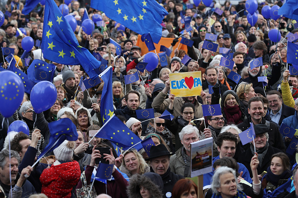 Europe「Pulse Of Europe Gatherings Spread To More Cities」:写真・画像(14)[壁紙.com]
