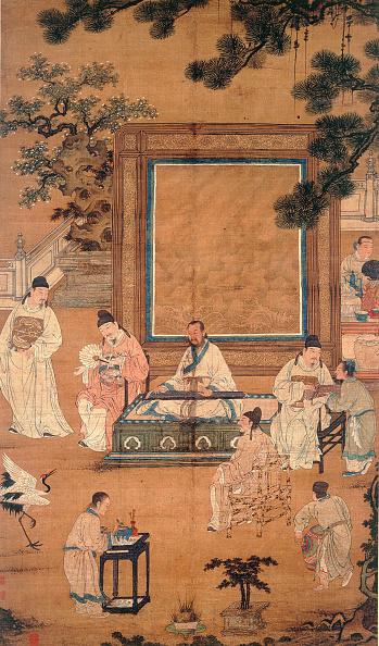 Painting - Activity「The Eighteen Scholars」:写真・画像(9)[壁紙.com]