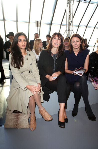 Bangs「Celebrities On The Front Row at London Fashion Week Spring/Summer 2012」:写真・画像(13)[壁紙.com]